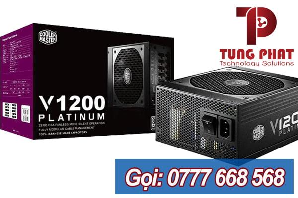 Nguồn Cooler Master 1200W V1200 80 Plus Platium Full Modular