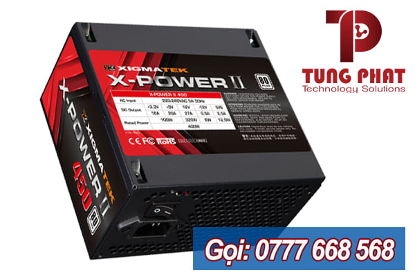 Xigmatek 400W X-Power II 450 80 Plus White