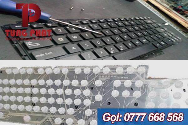 bàn phím laptop bị chay