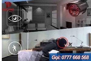 camera chống trộm ban đêm