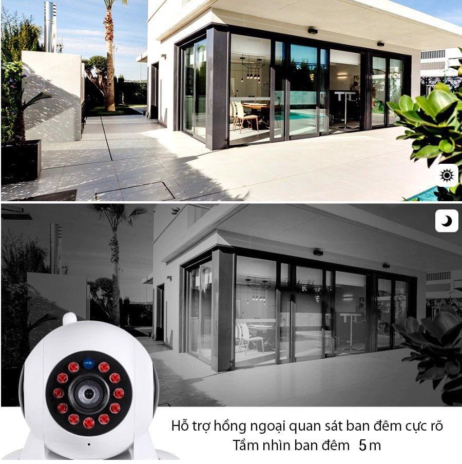 Camera WIFI IP Trong Nhà SmartZ F101