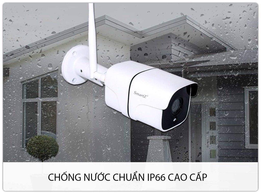 Camera IP Không Dây Ngoài Trời SmartZ Cao Cấp