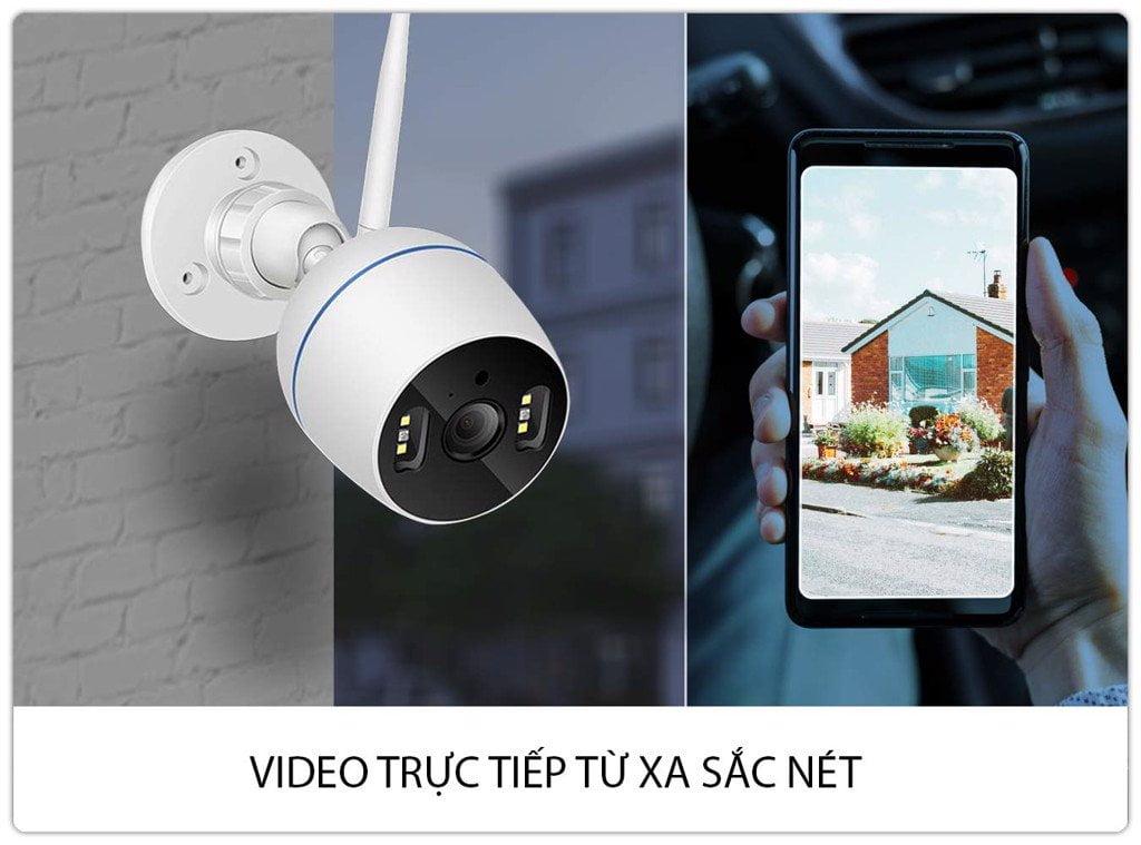 Camera IP Wifi SmartZ FX6 HD 1080P