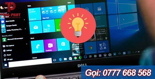 chỉnh độ sáng màn hình laptop