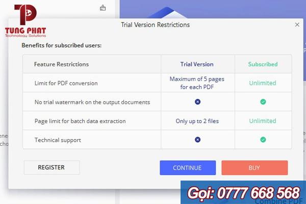 chọn file cần chuyển đổi wondershare pdf