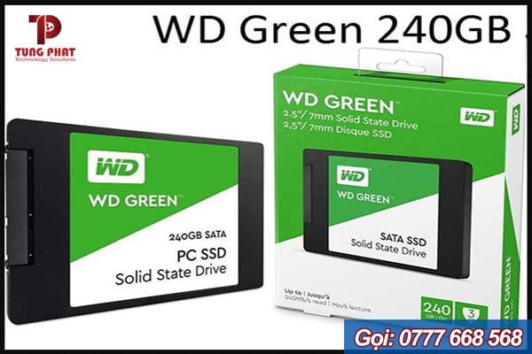 đánh giá ssd wd green 120gb