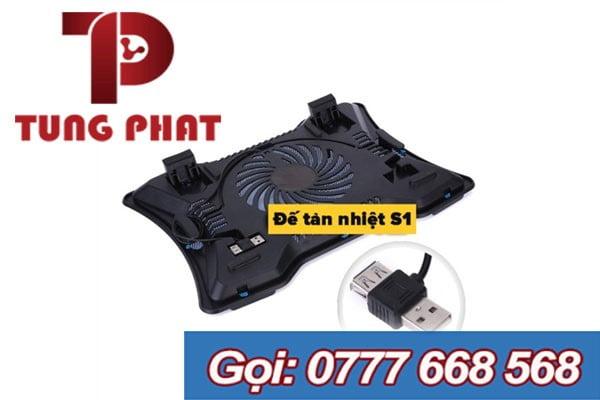 Đế Laptop S1 1 Fan Led
