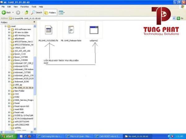 hướng dẫn lỗi reset counter máy in samsung ml 1640