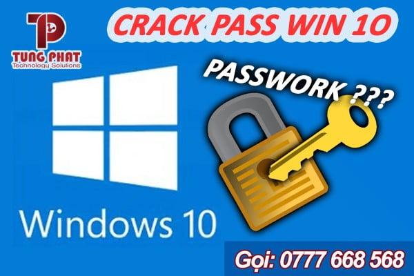 phá mật khẩu win 10