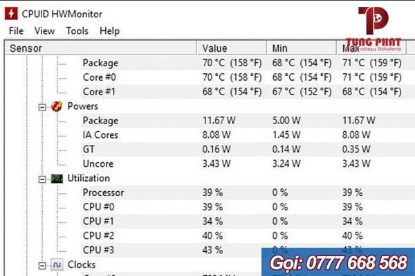 phần mềm kiểm tra chai pin laptop