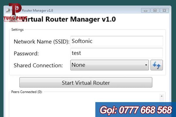 phần mềm virtual router