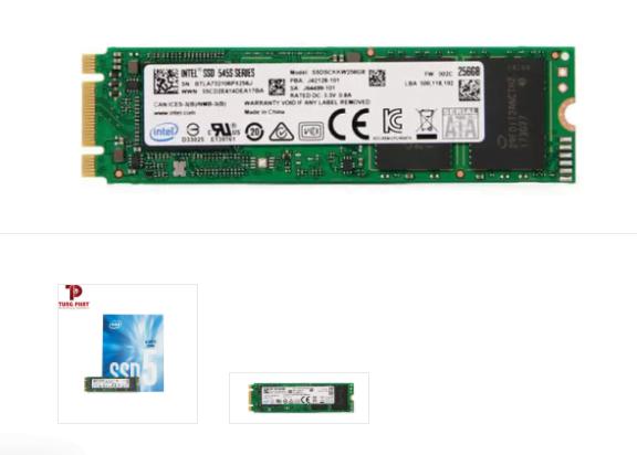 sản phẩm Ổ cứng SSD Intel 256G 545s M.2 Sata 6Gb/s