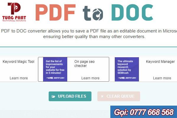 website pdf to doc