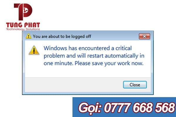 windows 7 tự khởi động