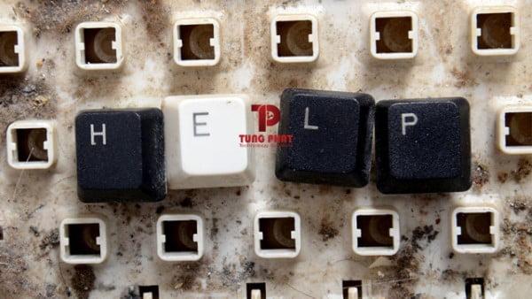 bàn phím laptop bị mất nút