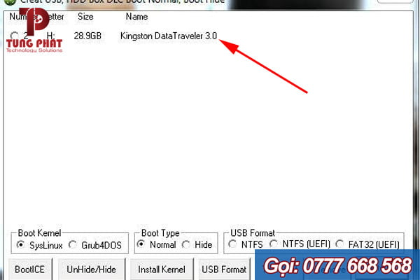 """Chọn Kingston DataTraveler 3.0"""""""