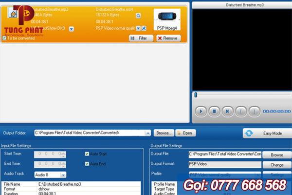 Tính năng của Total Video Converter