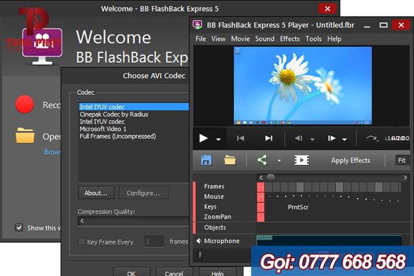 Phần mềm FlashBack Express