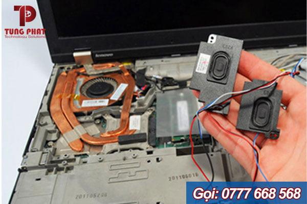 Sửa loa laptop bị rách