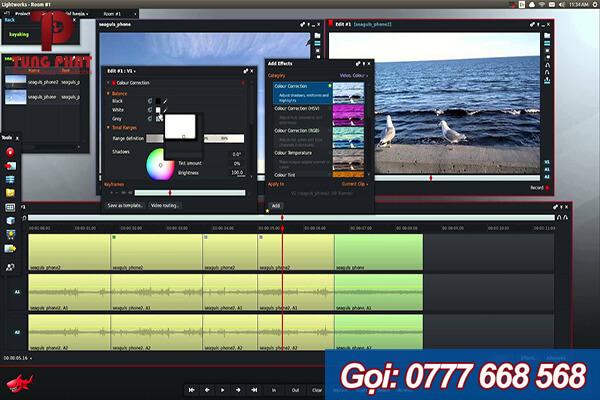 Lightworks - phần mềm chỉnh sửa video thông dụng