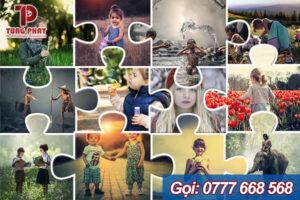 dịch vụ ghép ảnh cơ bản Photo Collage