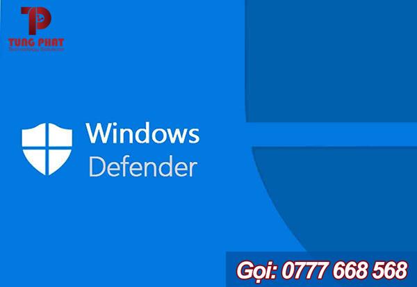 Phần mềm Windows Defender trong Win 10