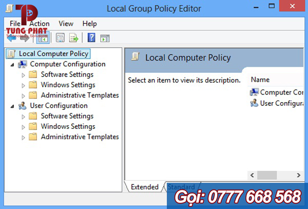 Tắt Windows Defender bằng Local Group Policy